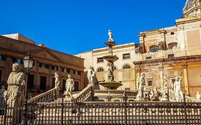 Fontanna Pretoria Palermo