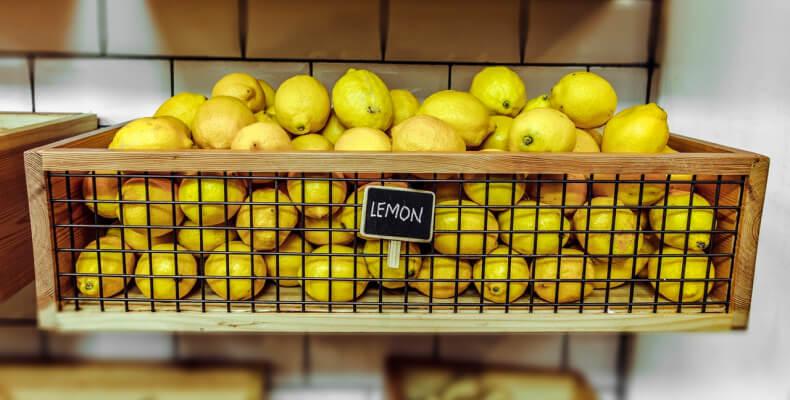 naturalne środki czystości z cytryną