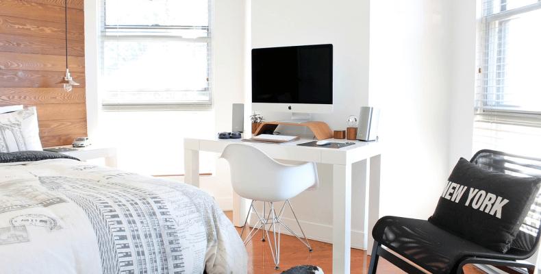 Jak urządzić małą sypialnię - kolorystyka