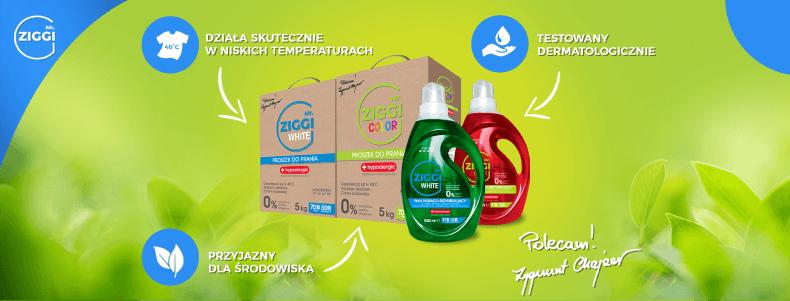 Mr. Ziggi - ekologiczne środki do prania
