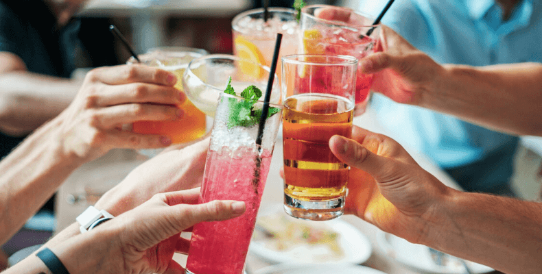 Letnie drinki bez cukru