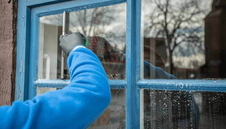 jesienne porzadki - mycie okien