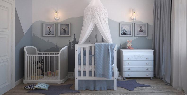 ak urządzić mały pokój dziecięcy- pokój dla dziecka