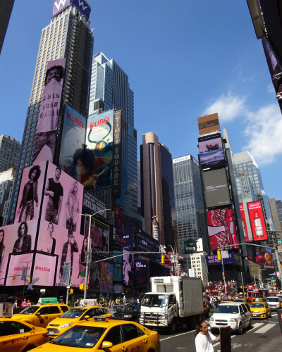 Nowy Jork atrakcje - Time Square (1)