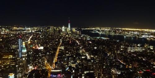 Nowy Jork widok nocą 4